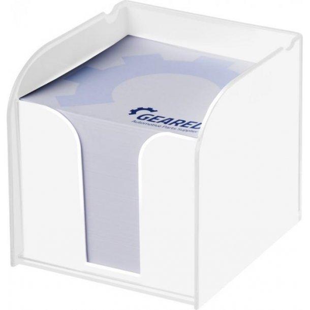 Plastikholder med memoblok - 800 ark