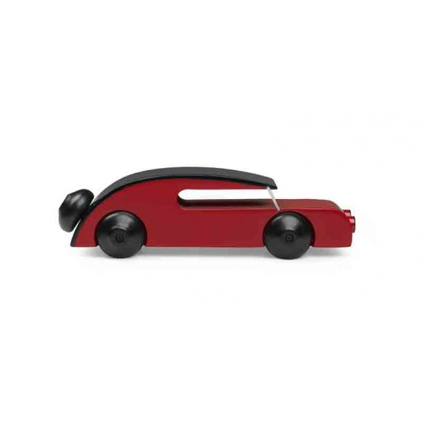Kay Bojesen automobil rød - 13 cm