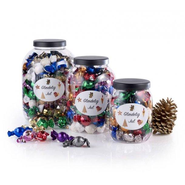 Mixede chokoladeballs  Glædelig jul - 600g