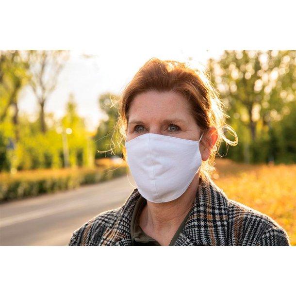 Genanvendelig 2-lags bomulds ansigtsmaske