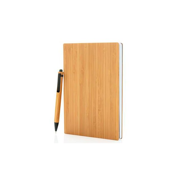 A5 bambus notesbog & kuglepen